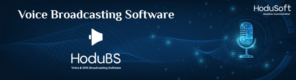 Voice Broadcasting Software