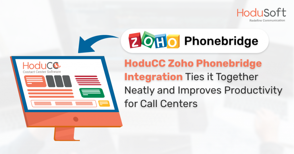 HoduCC Zoho Phonebridge Integration