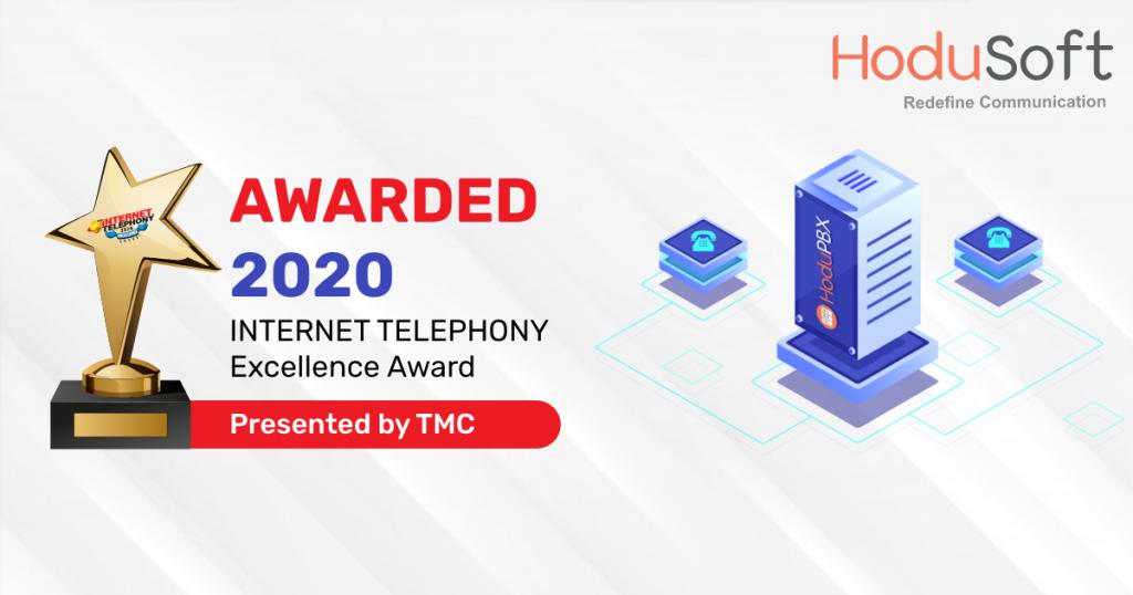 HoduPBX TMCNET Award