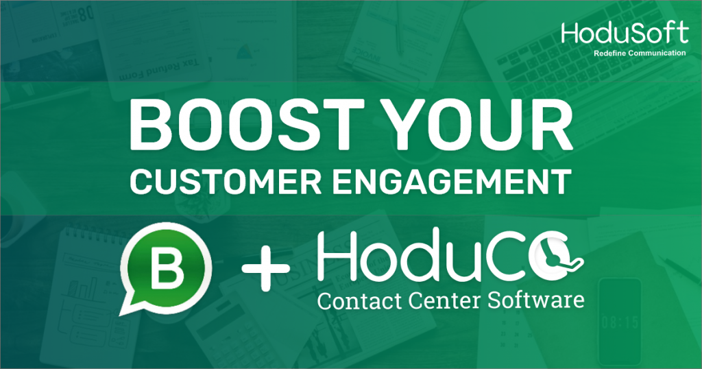Whatsapp Business HoduCC Contact Center Software