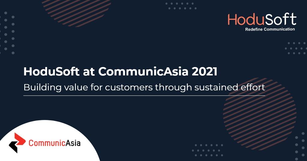 HoduSoft at CommunicAsia 2021